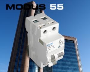 MODUS 55 SERIES - MCB, RCCB, RCBO