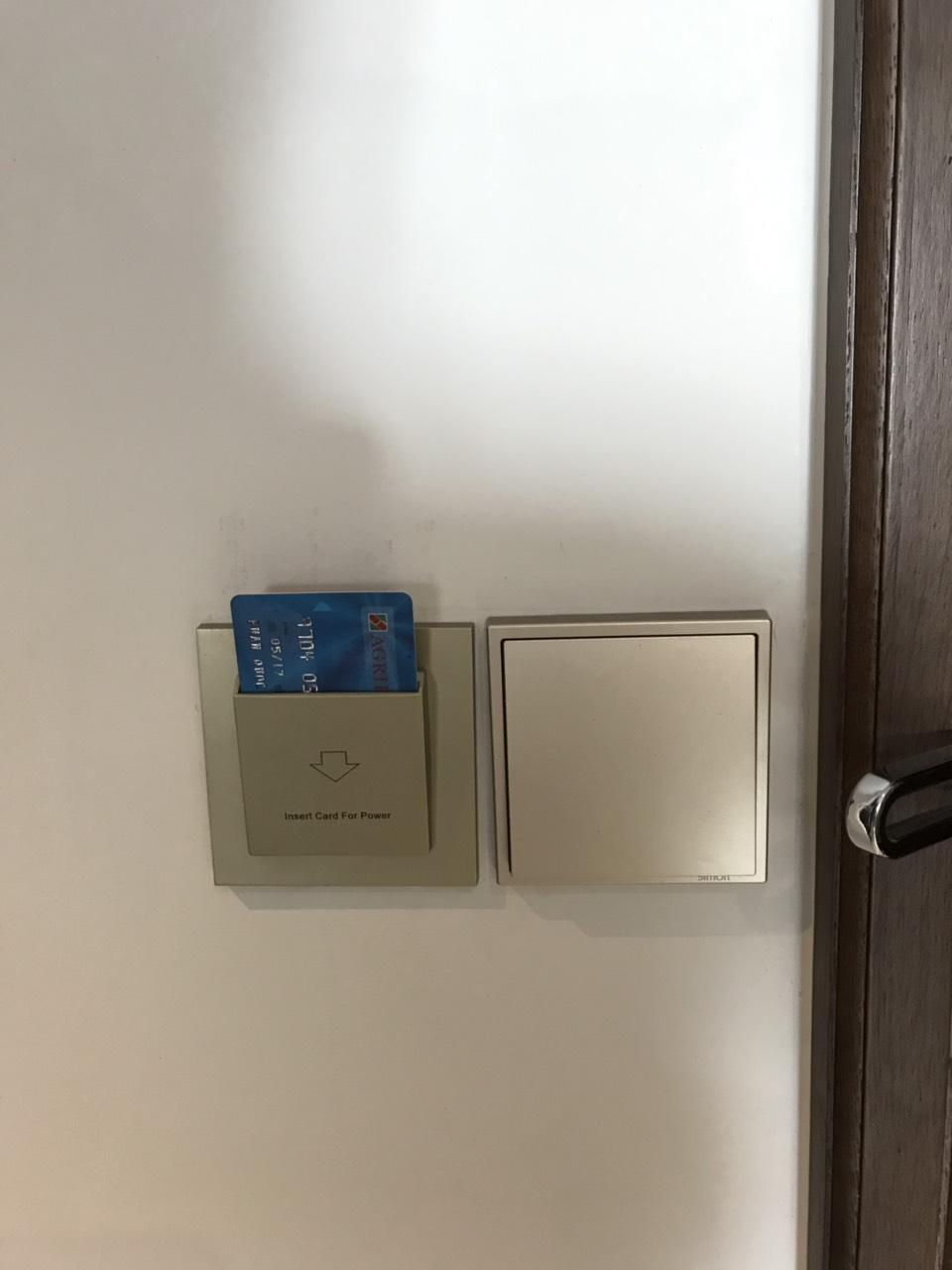 Công tắc thẻ card hệ thống Bedside Control
