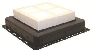 83058 - Đế âm sàn của hộp 16 Modul