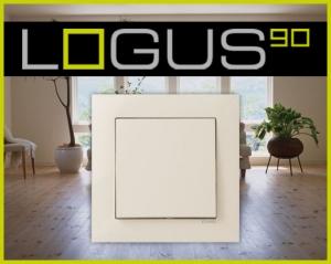 Khung viền Logus 90 Base (Mã màu: TMF - Ivory)
