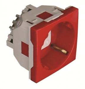 45132 S - Ổ cắm Schuko chuẩn 45x45mm