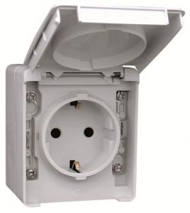 48131 C, 48862 C - Ổ cắm đơn, đôi chống nước IP65