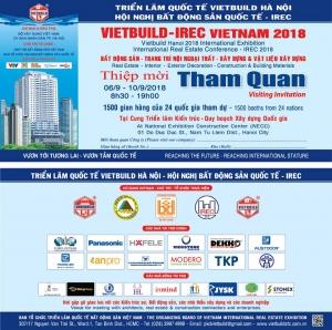 Triển lãm Quốc tế VIETBUILD Hà Nội 2018